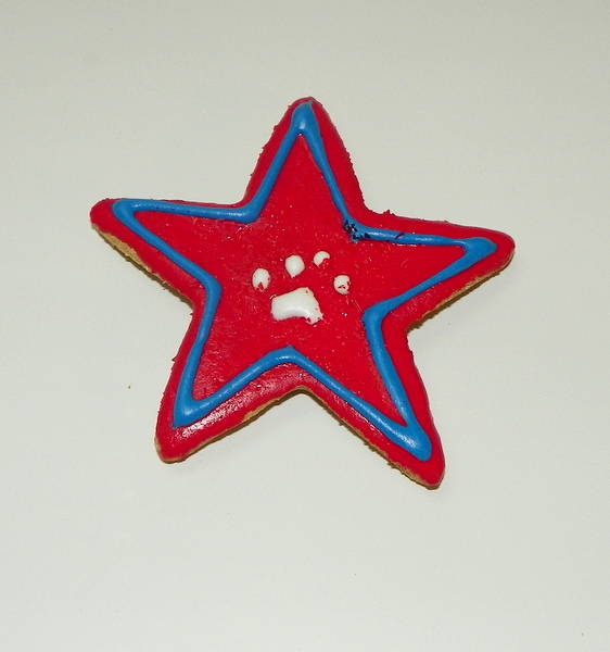 Medium patriotic star