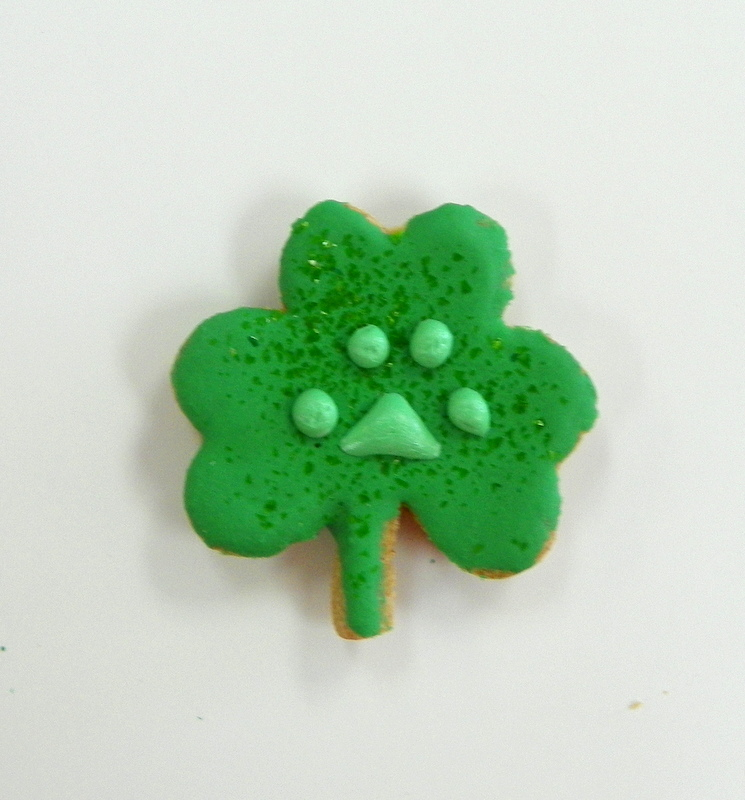 St. Pawty's Day's small Shamrock