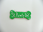 St. Pawty's Day's 5 inch bone